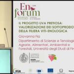 Presentazione del progetto durante il congresso Enoforum 2019